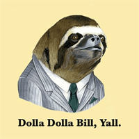 Gangsta Sloth